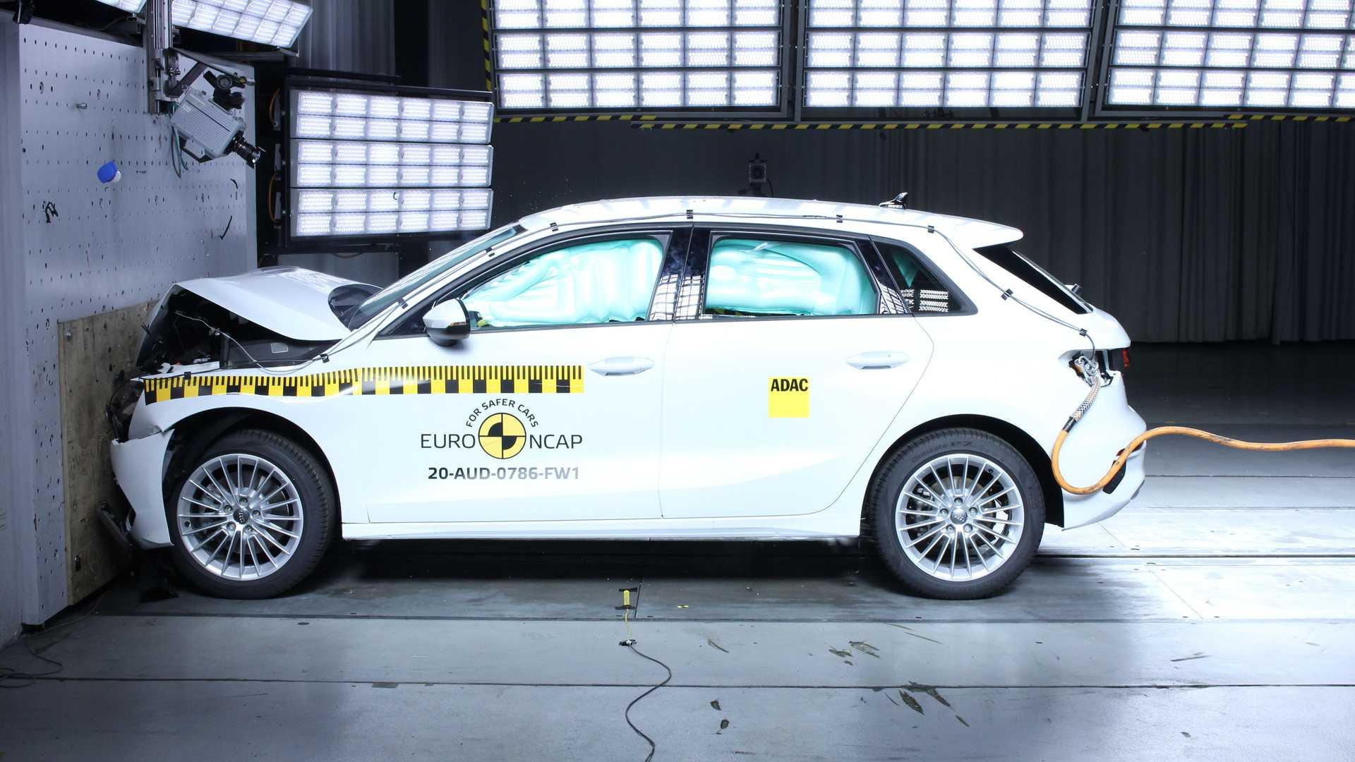 Crash test Euro NCAP, 5 stelle ad A3, D-Max, Sorento, Defender e Leon
