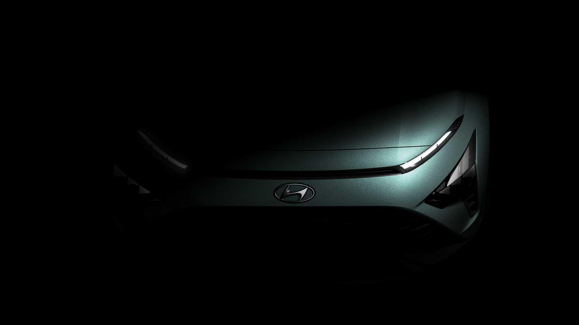 Hyundai Bayon, il crossover coreano si mostra nei teaser ufficiali