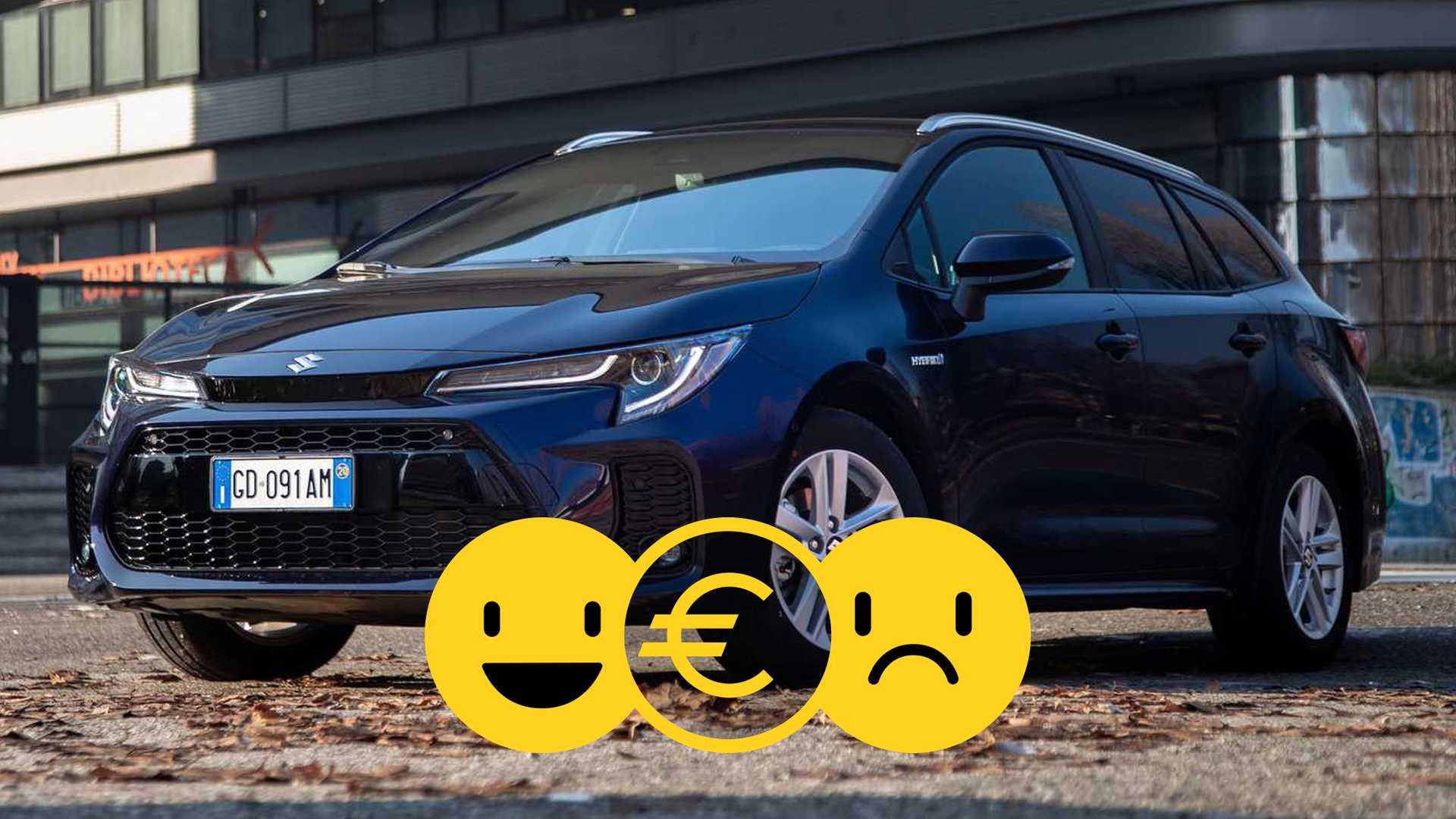 Promozione Suzuki Swace ibrida, perché conviene e perché no