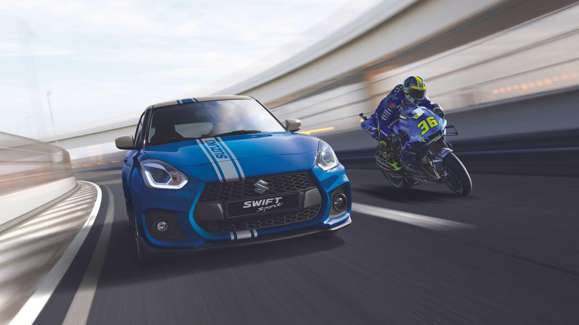 Suzuki celebra il settimo titolo MotoGP con 7 esemplari speciali di Swift