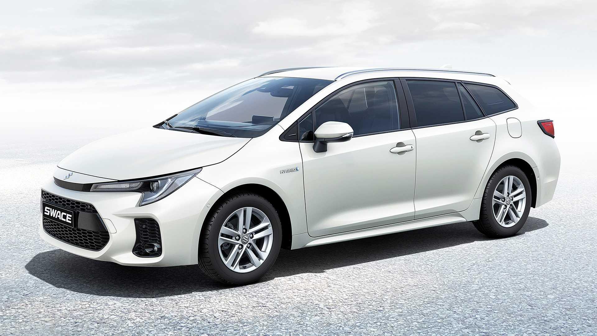 La nuova station wagon ibrida di Suzuki si chiama Swace