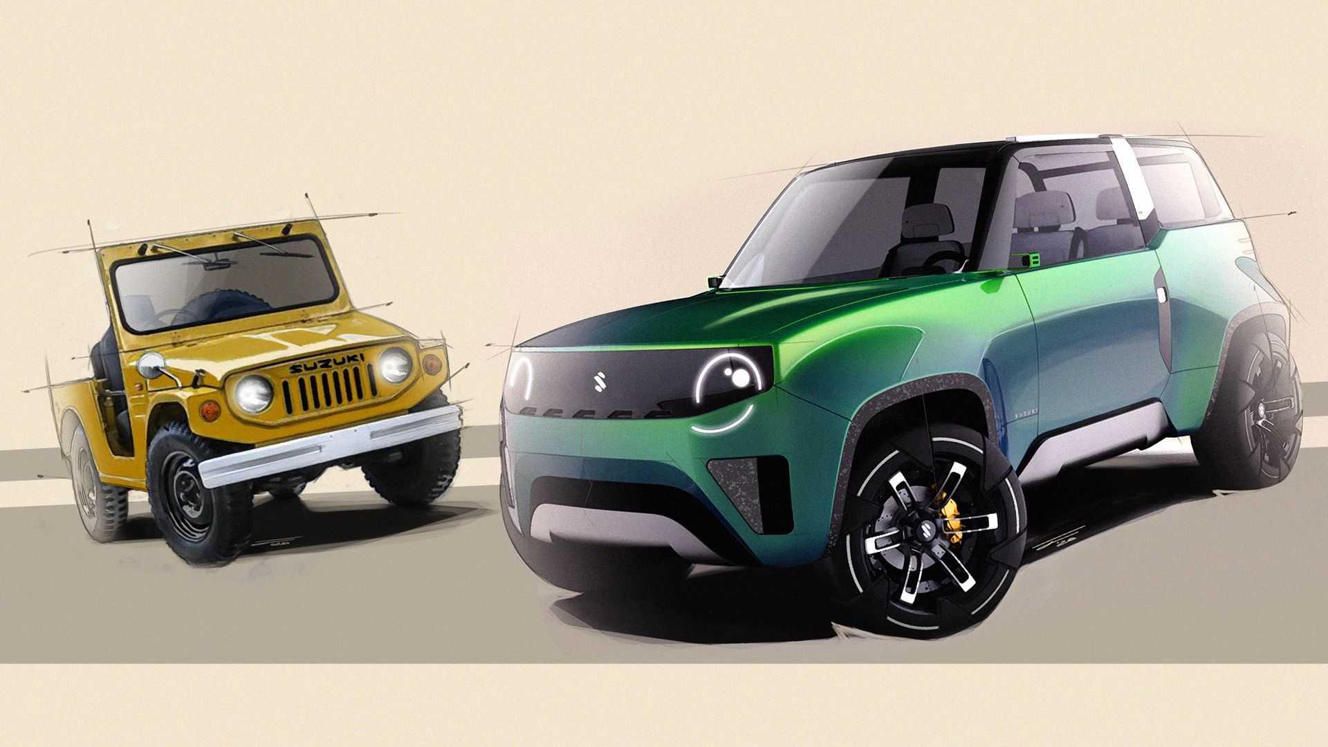 Incredibile Suzuki Jimny, ecco com'è reinterpretata dagli studenti