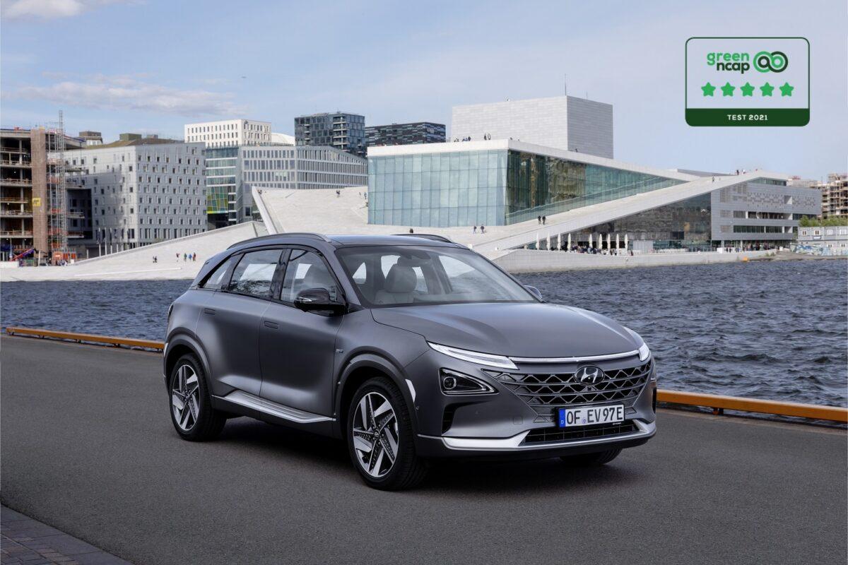 Hyundai Nexo conquista le 5 stelle Green NCAP: efficienza, emissioni