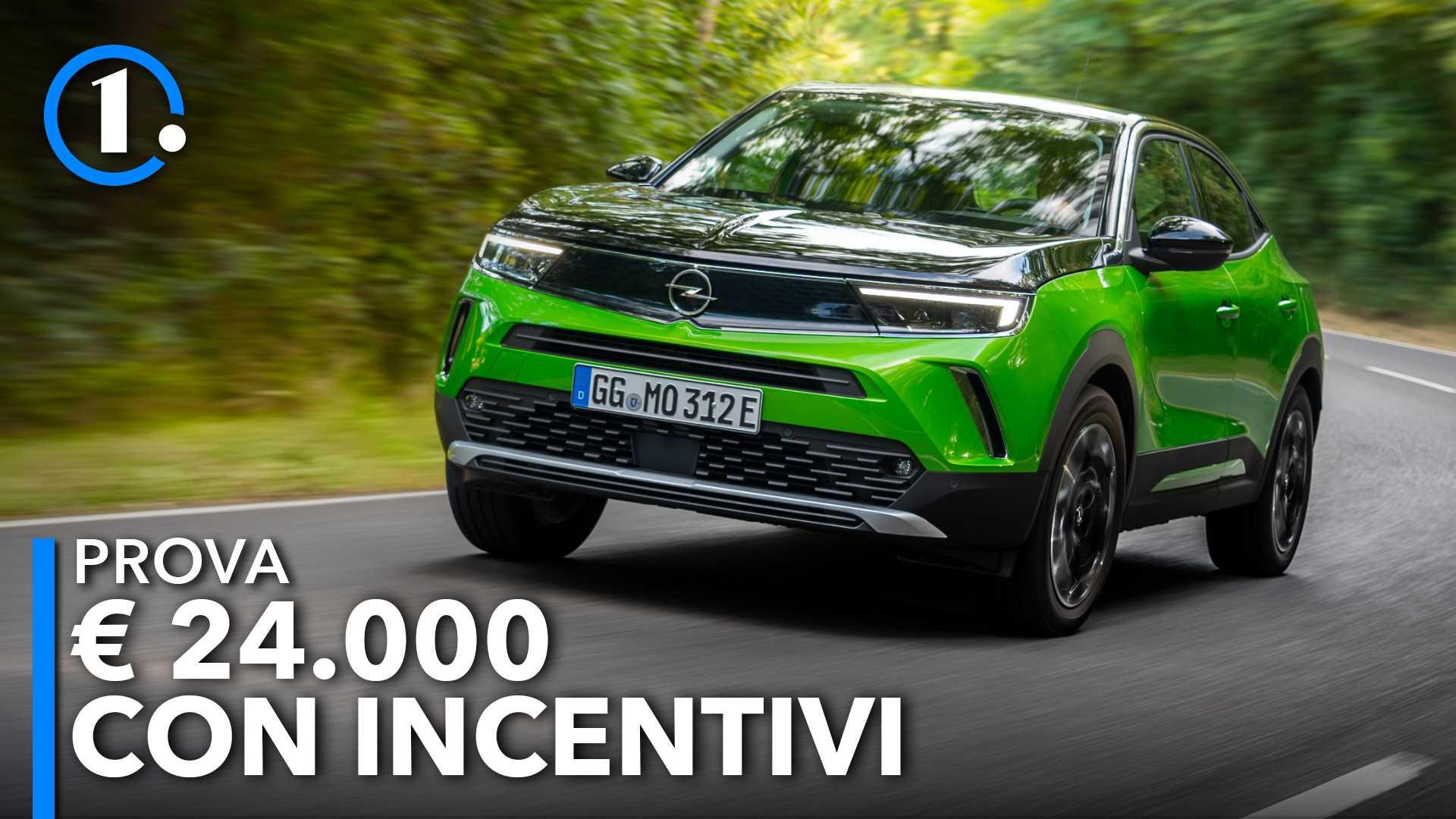 Nuova Opel Mokka (2021), prova della versione elettrica