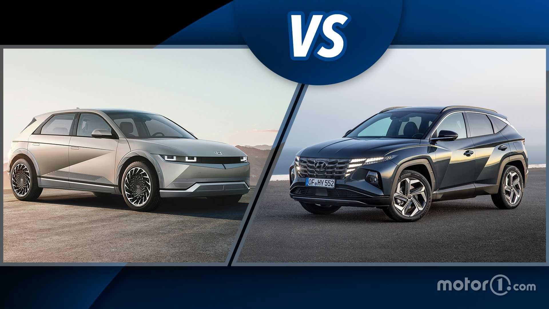 Hyundai Ioniq 5 o Tucson? Cosa scegliere tra SUV elettrico e SUV ibrido