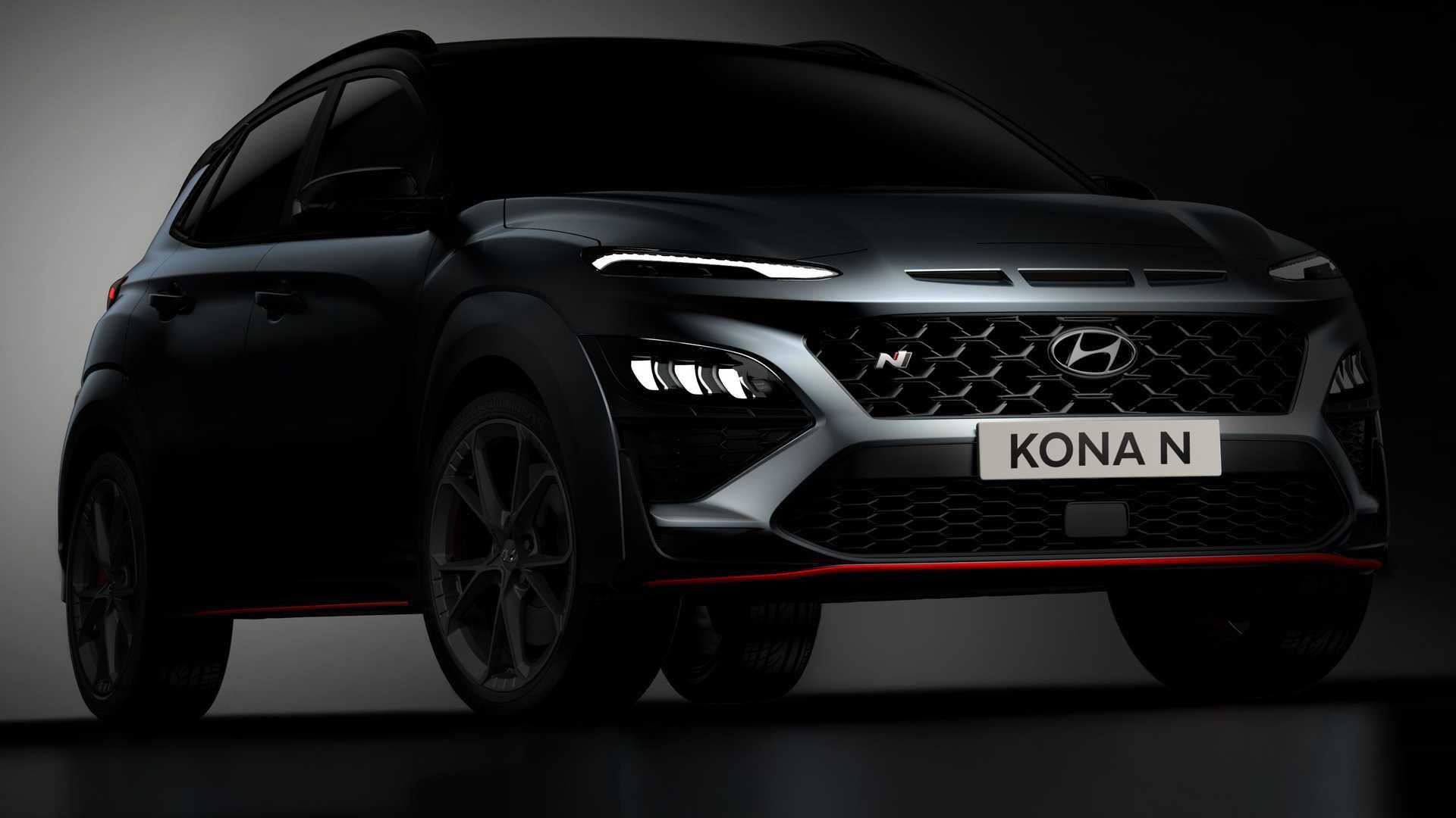 La Hyundai Kona N si mostra sportiva e senza veli