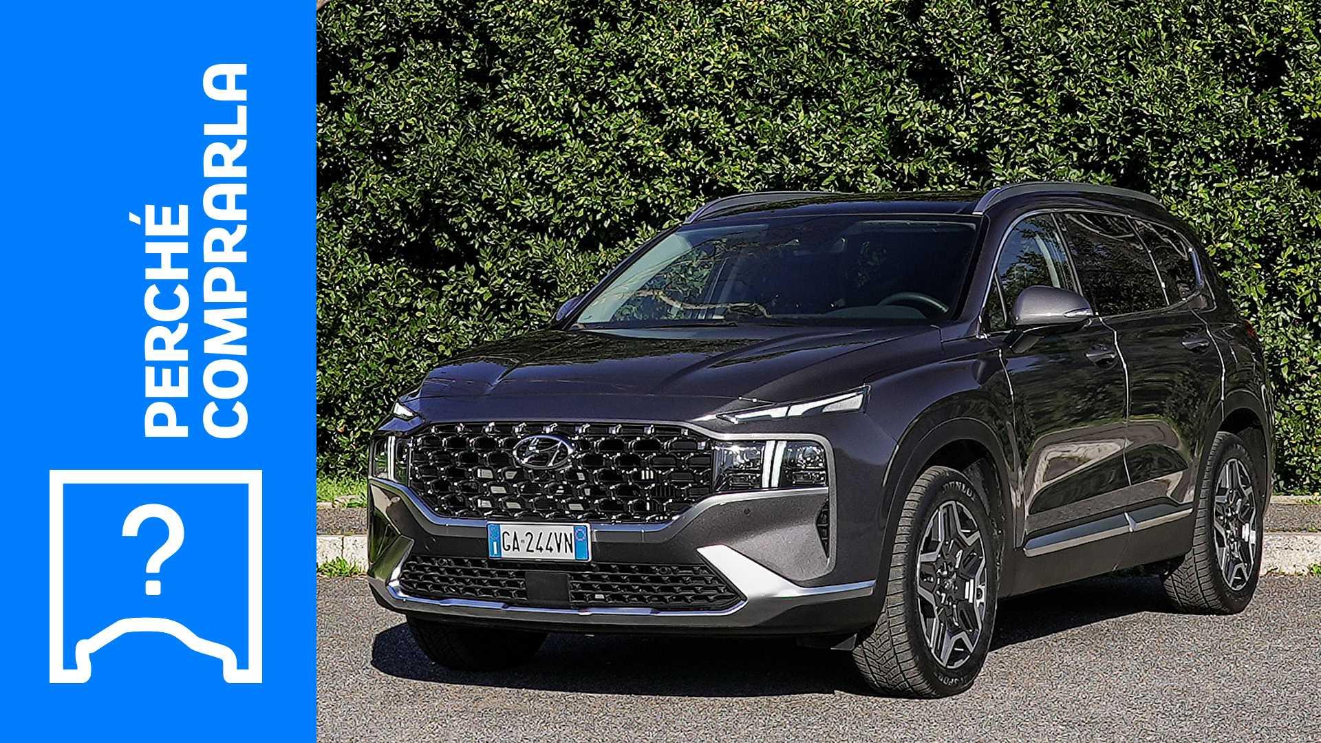 Hyundai Santa Fe (2021), perché comprarla e perché no