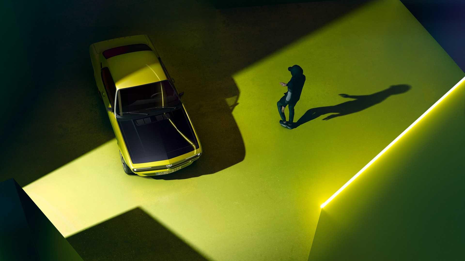 La Opel Manta rinasce con motore elettrico