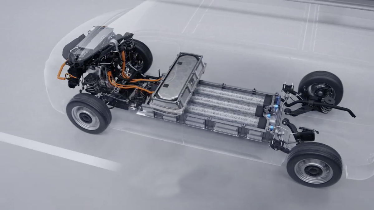 Peugeot Expert, Citroen Jumpy, Opel Vivaro a idrogeno