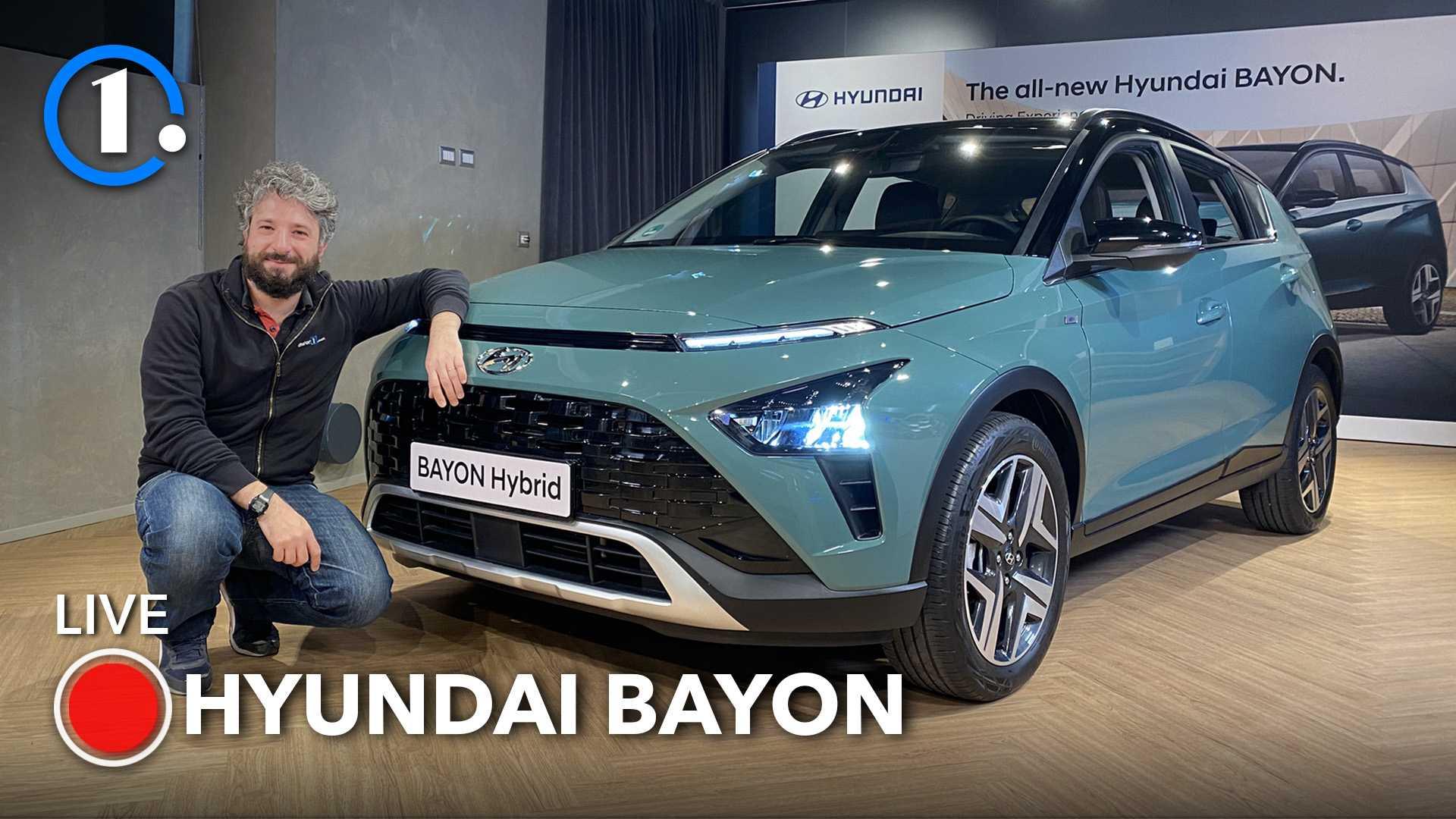 Hyundai Bayon, il piccolo SUV visto dal vivo