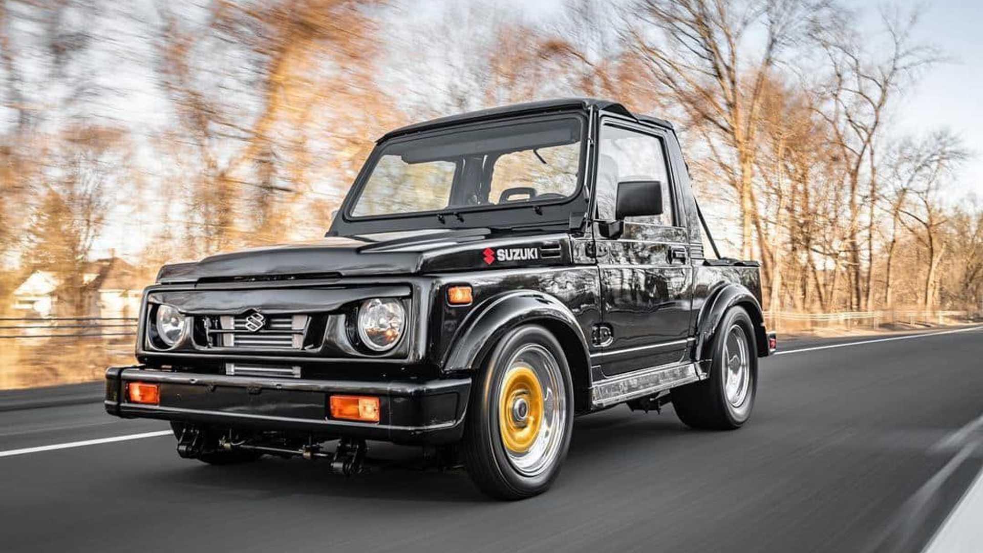 La Suzuki Samurai impressiona col motore rotativo da oltre 400 CV