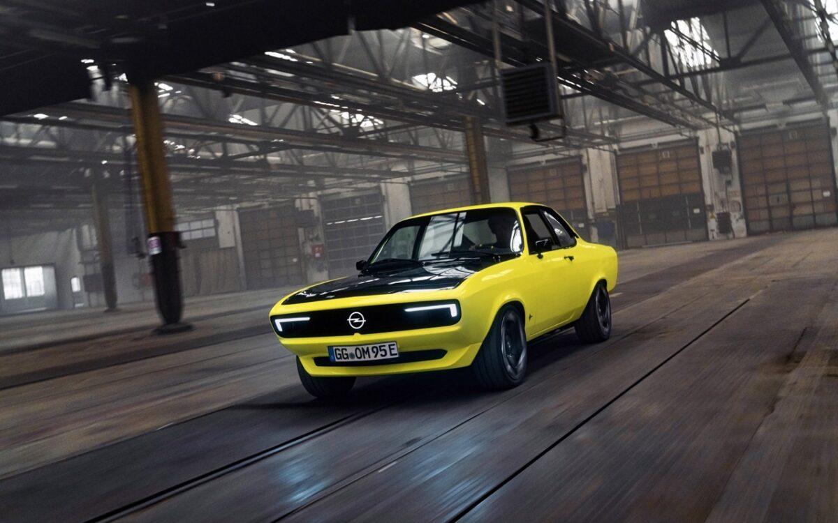 Opel Manta 2021: caratteristiche, motore e autonomia