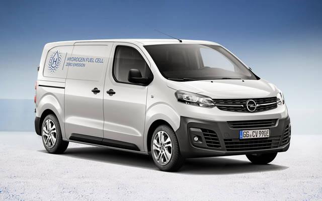 Opel Vivaro: ora anche a idrogeno