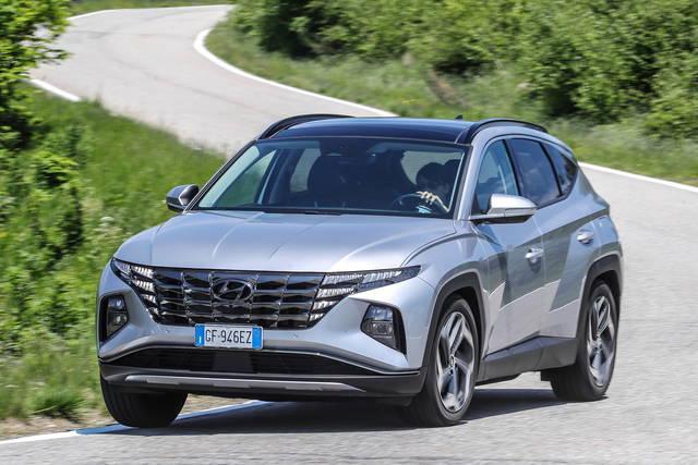 Hyundai Tucson prova, scheda tecnica, opinioni e dimensioni 1.6 PHEV Exellence 4WD AT