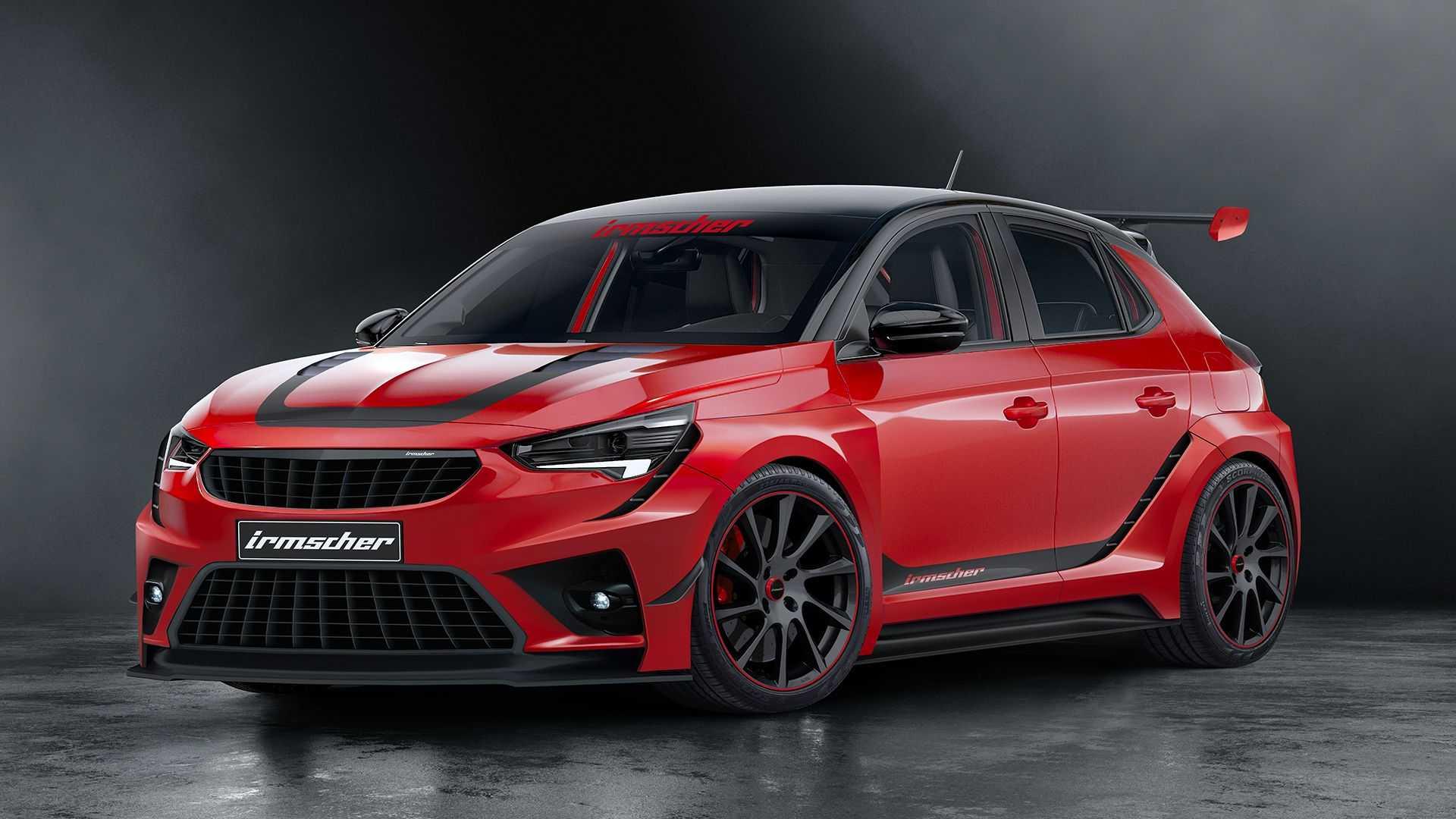 Opel Corsa iRC, con Irmscher si prepara a correre