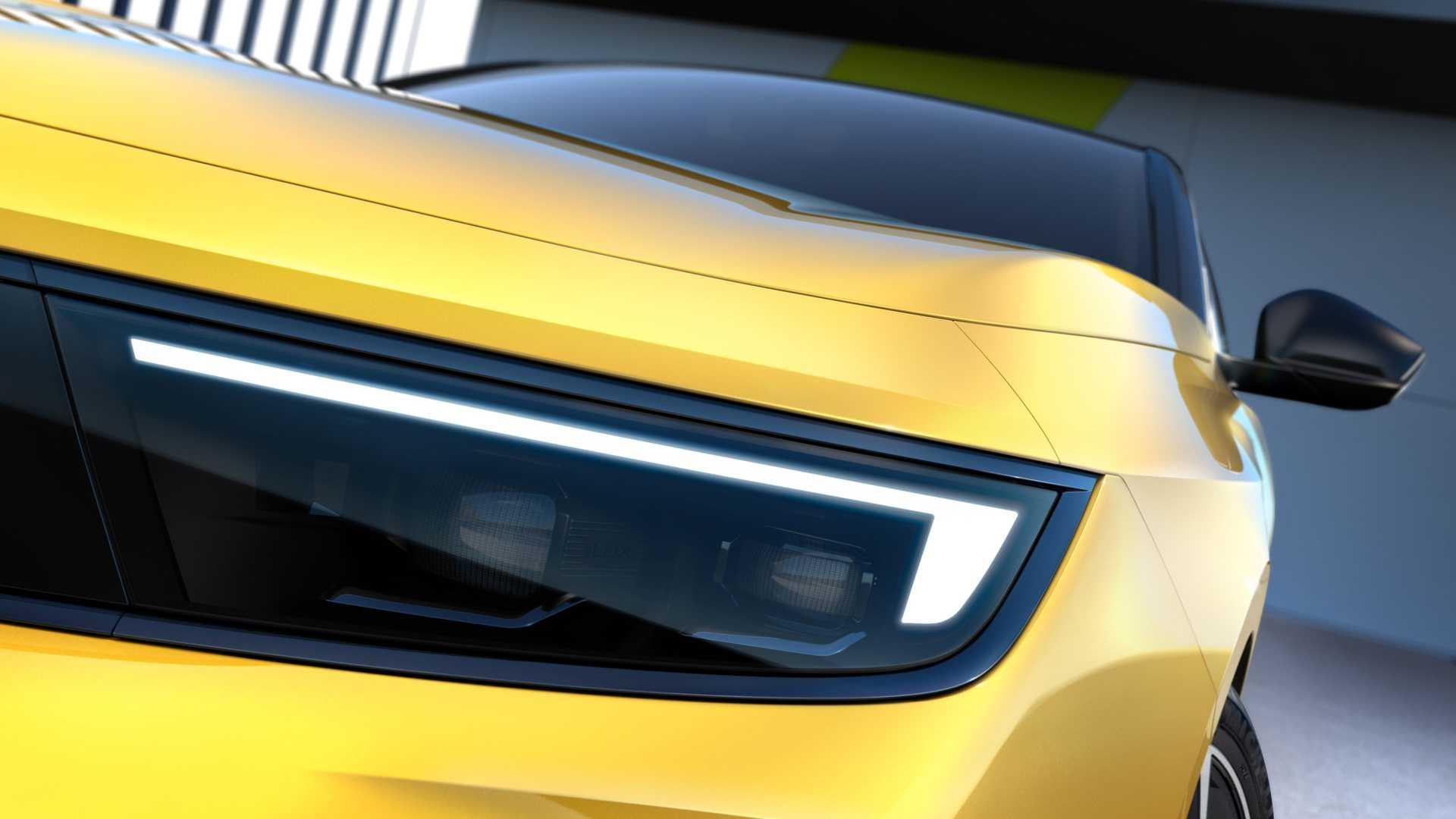 Nuova Opel Astra, tutti i dettagli nelle prime foto ufficiali