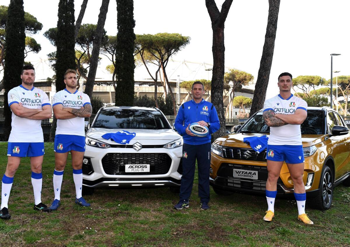 Suzuki: solo le auto del Samurai per Federazione Italiana Rugby