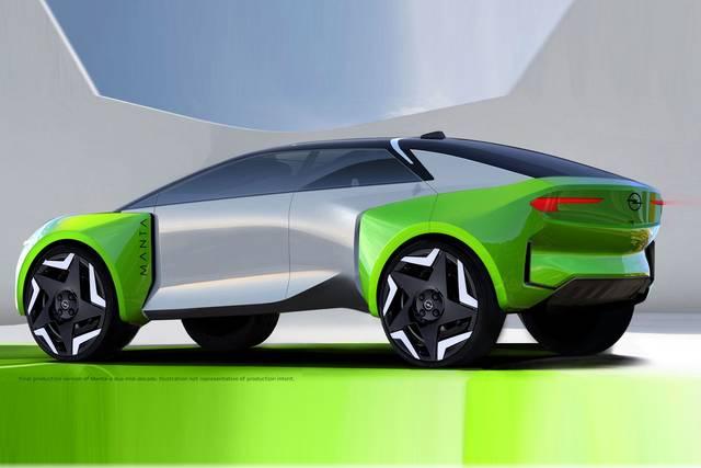 La Opel illustra la sua strada verso l'auto elettrica