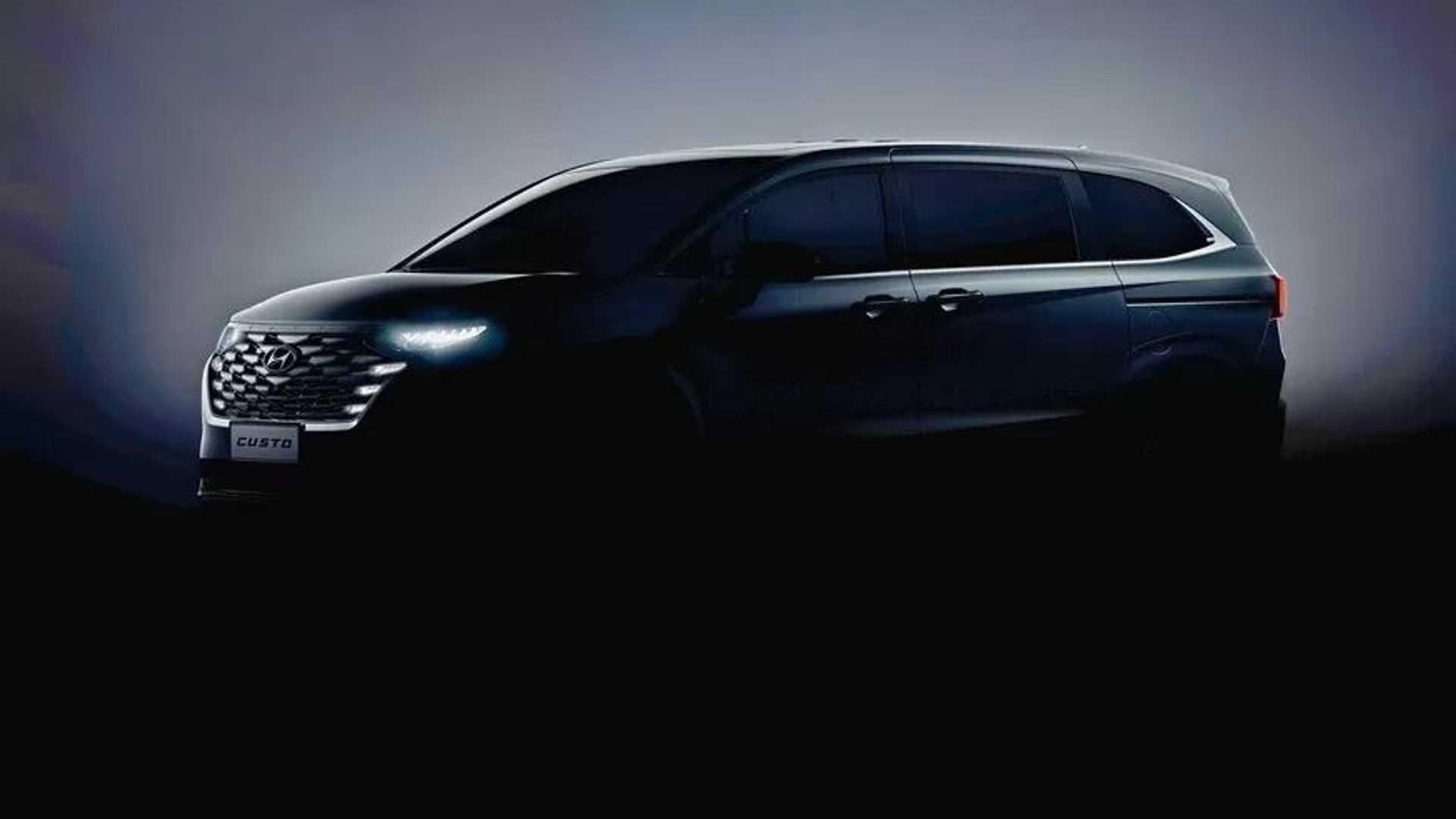 La Hyundai Tucson ispira il nuovo minivan Custo per la Cina
