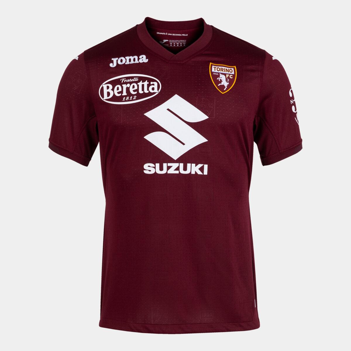 Suzuki main sponsor Torino per la stagione 2021-2022: partnership, maglia