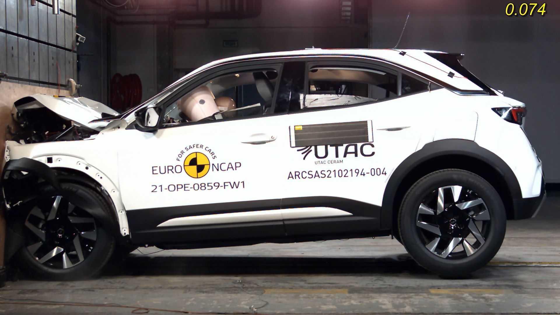 Opel Mokka e Renault Kangoo alla prova di Euro NCAP
