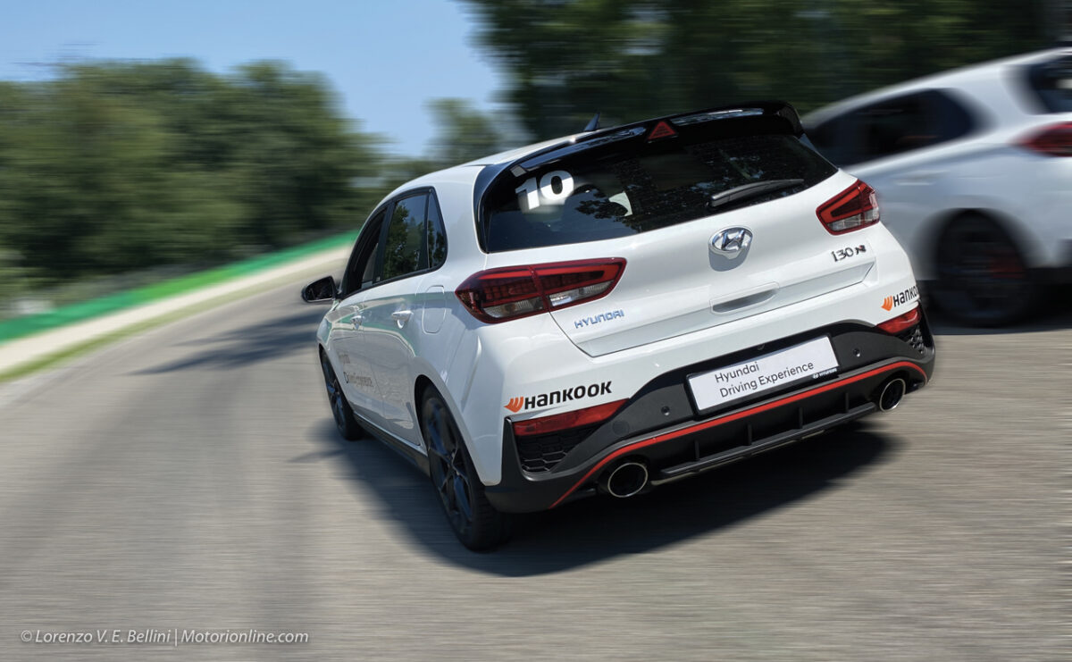 Hyundai Driving Experience, Hankook: Autodromo Nazionale Monza