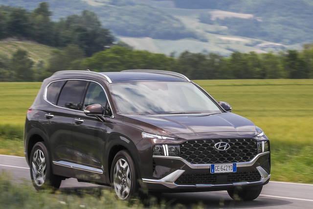 Hyundai Santa Fe: disponibile l'ibrida plug-in