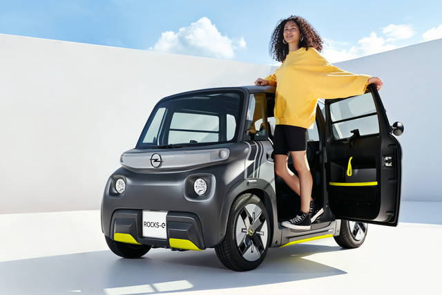 Opel Rocks-e: la gemella tedesca