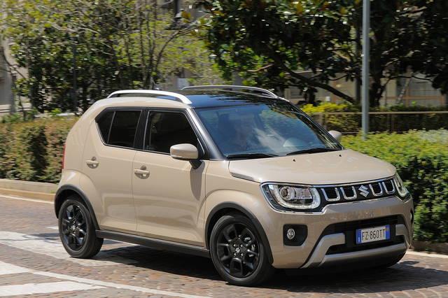 Prova Suzuki Ignis scheda tecnica opinioni e dimensioni 1.2 Hybrid Top