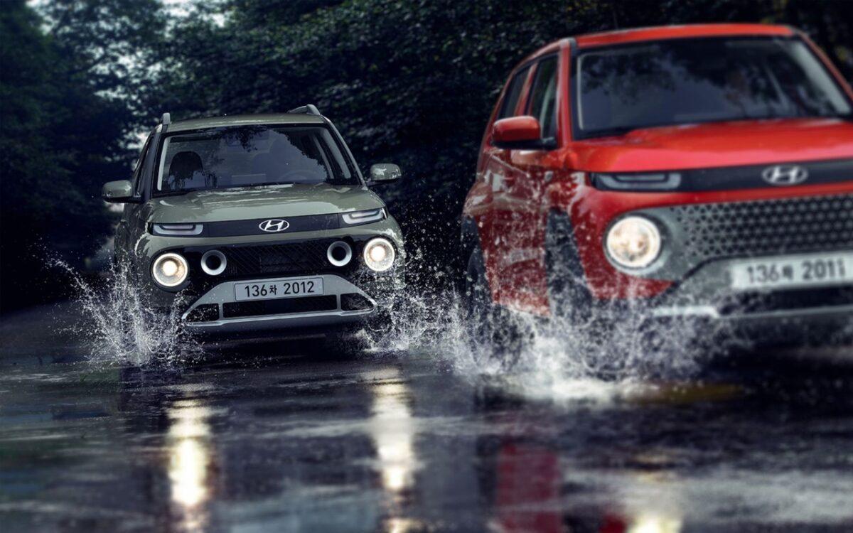 Hyundai Casper: rivelate le prime immagini ufficiali