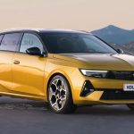 Opel Astra Sports Tourer 2023: il rendering di Kolesa