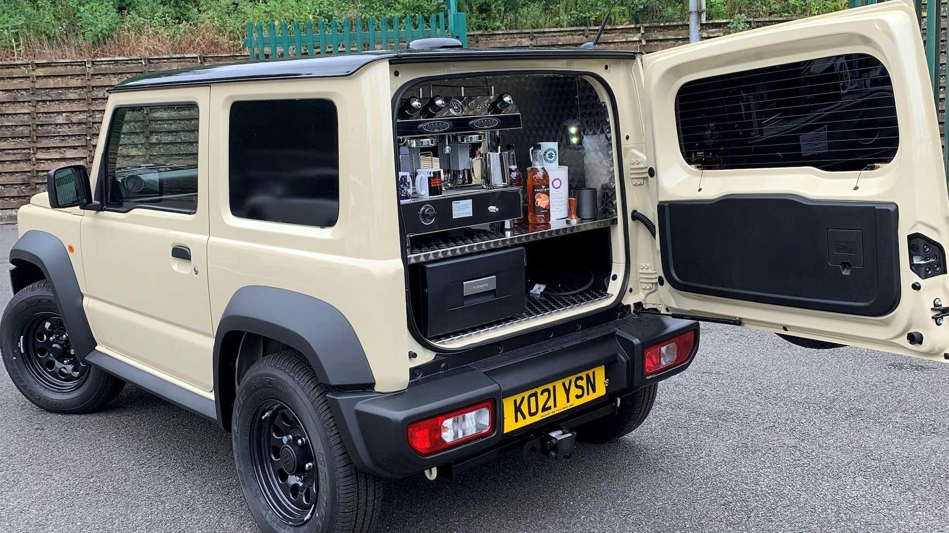 La Suzuki Jimny ora fa anche il caffè